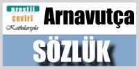 Türkçe Arnavuça sözlük